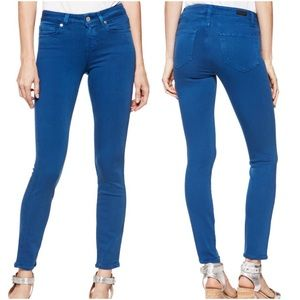 Paige Verdugo Transcend Ankle Blue Skinny Jeans 25